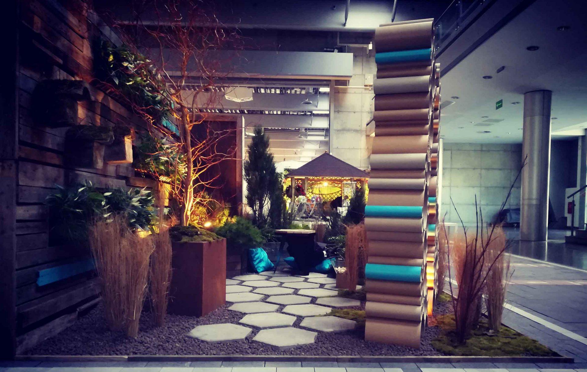 Ogród pokazowy, gardenia, I miejsce, konkurs inspiracje aranżacje, rzeźba dom dla owadów